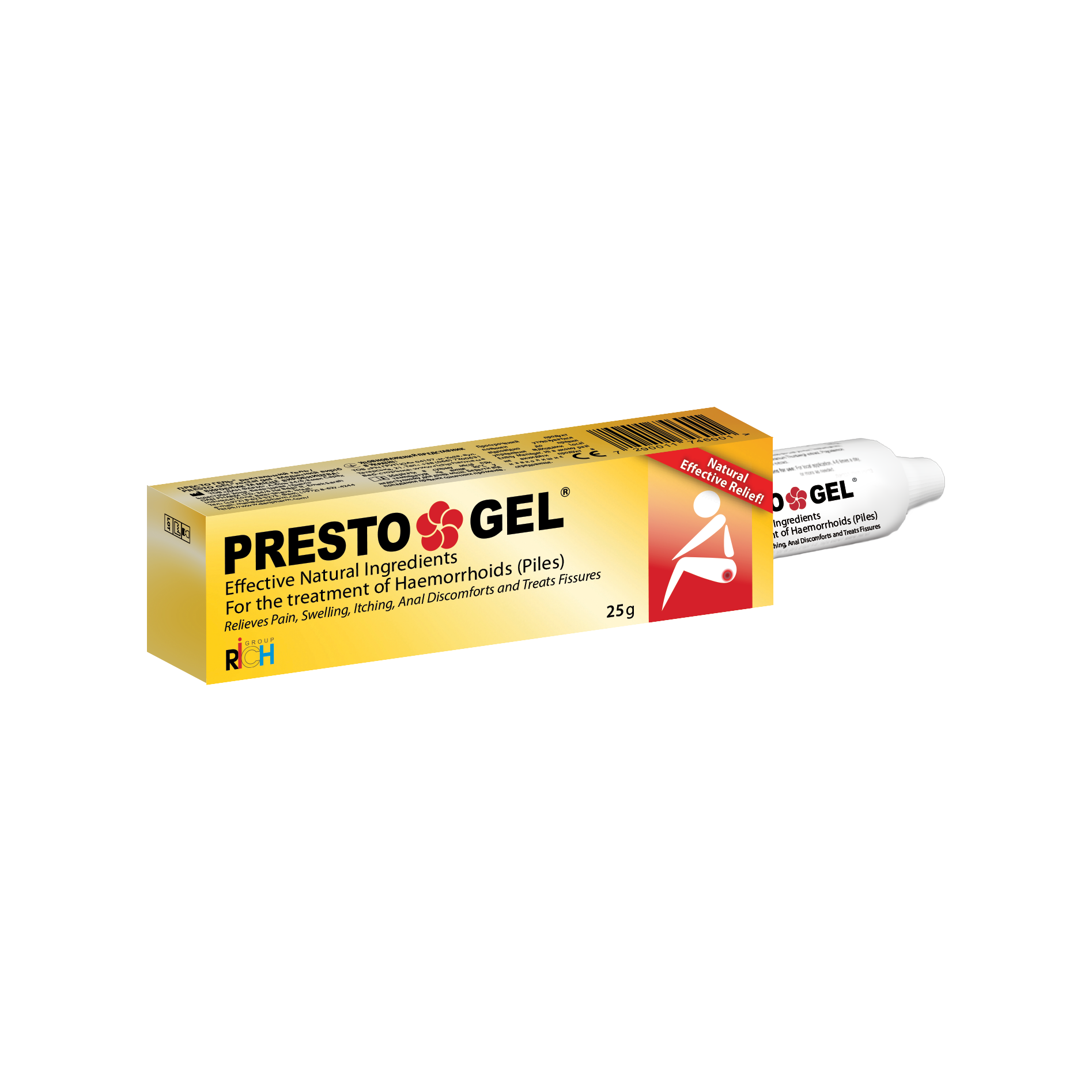 Presto Gel (gel) Ukraine (Medical Device) - English Versiond